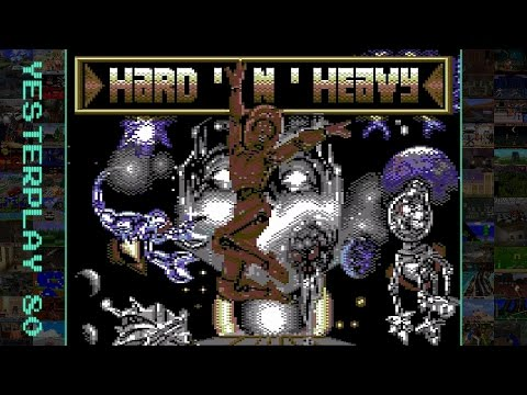 YesterPlay: Hard 'n' Heavy (C64, Rainbow Arts, 1989)