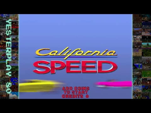 #YesterPlay: California Speed (Arcade, Atari Games, 1998)