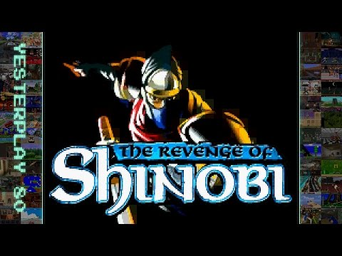 YesterPlay: The Revenge Of Shinobi (GBA, 3d6 Games, 2002)