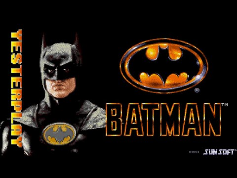 #YesterPlay: Batman (Mega Drive, Sunsoft, 1991)