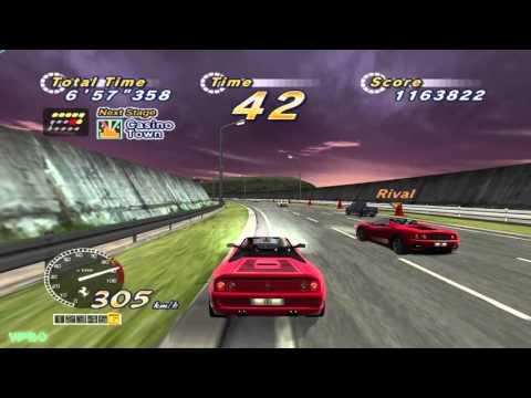 YesterPlay: OutRun 2006 - Coast 2 Coast, alle 15 Strecken aus OutRun 2 SP (PC, Sega, 2006)