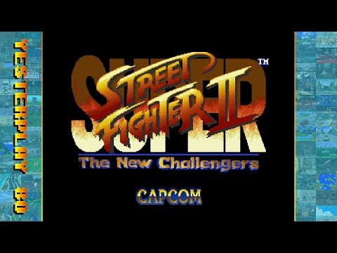 #YesterPlay: Super Street Fighter 2 - The New Challengers (MS-DOS, Rozner Labs Software Group, 1996)