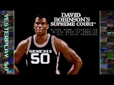 YesterPlay: David Robinson's Supreme Court (Mega Drive, ACME Interactive, 1992)