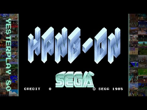 YesterPlay: Hang-On (Arcade, Sega, 1985)