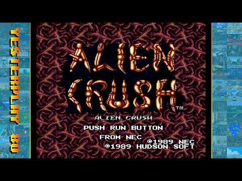 #YesterPlay: Alien Crush (TurboGrafx-16, Naxat Soft, 1989)