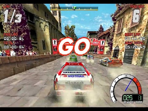 YesterPlay: Bleifuss Rally (MS-DOS, Milestone, 1997)