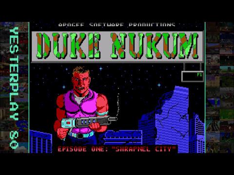 #YesterPlay: Duke Nukum / Duke Nukem (MS-DOS, Apogee Software, 1991)