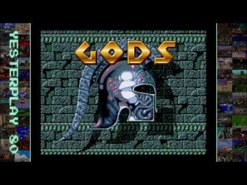 #YesterPlay: Gods (Mega Drive, The Bitmap Brothers, 1992)