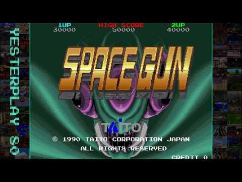 YesterPlay: Space Gun (Arcade, Taito, 1990)