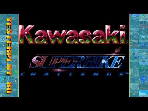 #YesterPlay: Kawasaki Superbikes / Kawasaki Superbike Challenge (Mega Drive, Lankhor, 1995)