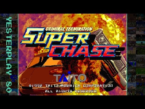YesterPlay: Super Chase - Criminal Termination (Arcade, Taito, 1993)