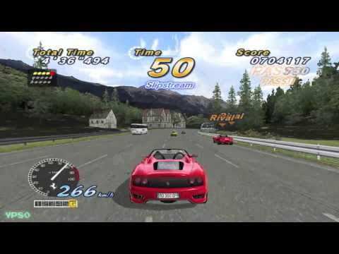YesterPlay: OutRun 2006 - Coast 2 Coast, alle 15 Strecken aus OutRun 2 (PC, Sega, 2006)