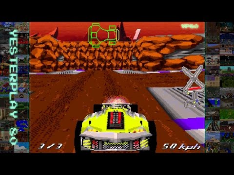 YesterPlay: Track Attack (MS-DOS, Arc Developments, 1996)