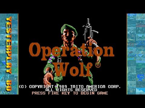 #YesterPlay: Operation Wolf (MS-DOS, Taito, 1989)