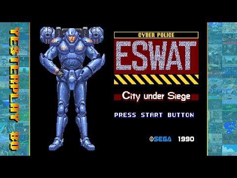 #YesterPlay: ESWAT - City Under Siege (Mega Drive, Sega, 1990)