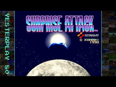 YesterPlay: Surprise Attack (Arcade, Konami, 1990)