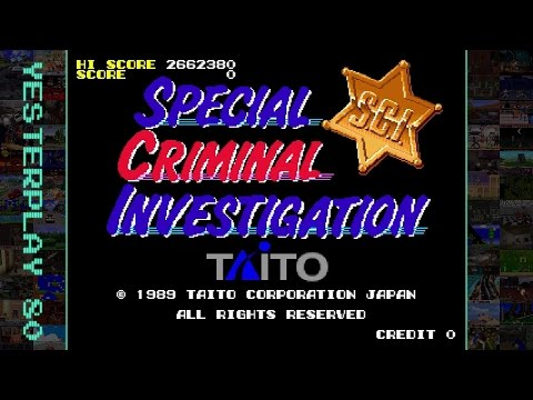YesterPlay: Special Criminal Investigation (Arcade, Taito, 1989)