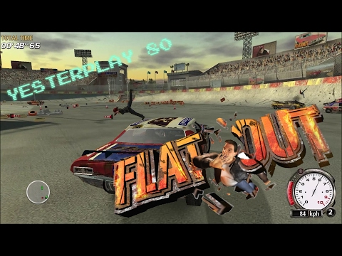 YesterPlay: Flatout (PC, Bugbear Entertainment, 2004)