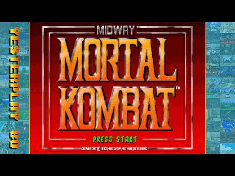 #YesterPlay: Mortal Kombat (MS-DOS, Midway, 1993)
