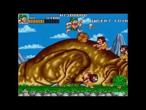 #YesterPlay: Caveman Ninja (Arcade, Data East, 1991)