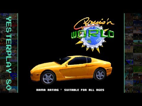 #YesterPlay: Cruis'n World (Arcade, Midway, 1996) - Cruise the world