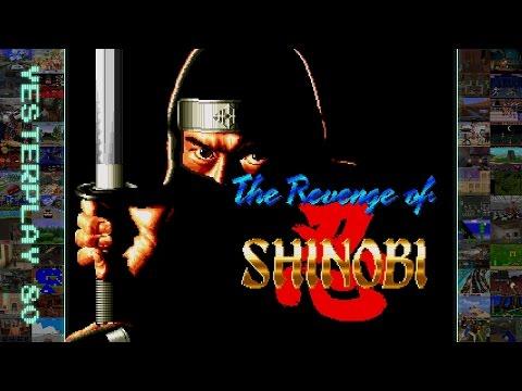 YesterPlay: The Revenge Of Shinobi (Mega Drive, Sega, 1990) [Komplett]