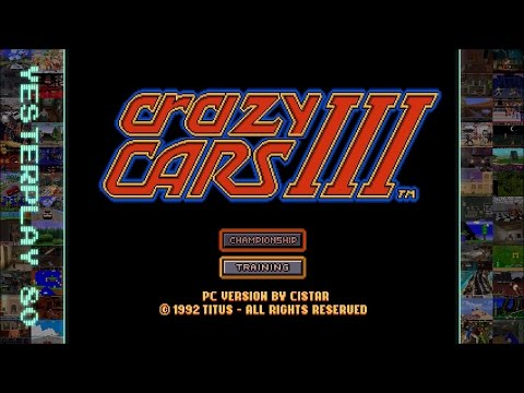 YesterPlay: Crazy Cars 3 (MS-DOS, Cistar, 1992)