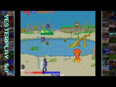 YesterPlay: Cabal (Arcade, TAD Corporation, 1988)