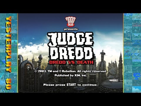 #YesterPlay: Judge Dredd: Dredd vs. Death (PC, Rebellion, 2003)