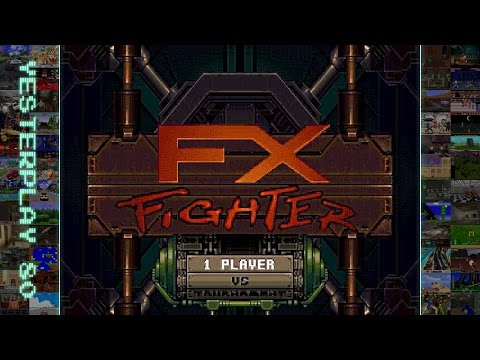 #YesterPlay: FX Fighter (MS-DOS, Argonaut Software, 1995)