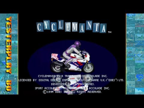 #YesterPlay: Cyclemania (MS-DOS, Compro Games, 1994) - komplette Meisterschaft