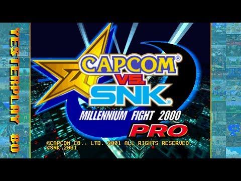 #YesterPlay: Capcom vs. SNK - Millenium Fight 2000 PRO (Dreamcast, Capcom, 2001)