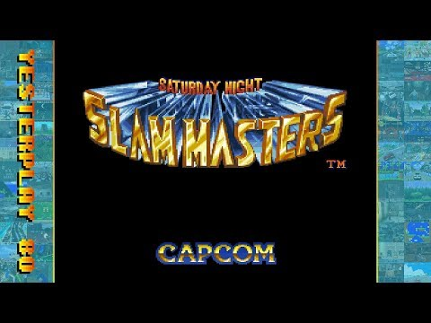 #YesterPlay: Saturday Night Slam Masters (Mega Drive, Capcom, 1994)