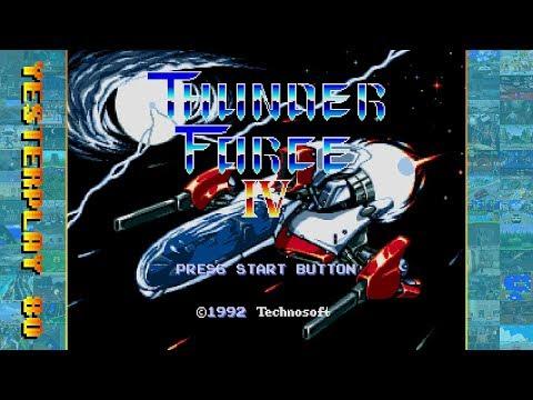 YesterPlay: Thunder Force IV (Mega Drive, Technosoft, 1992) - komplettes Spiel / Longplay