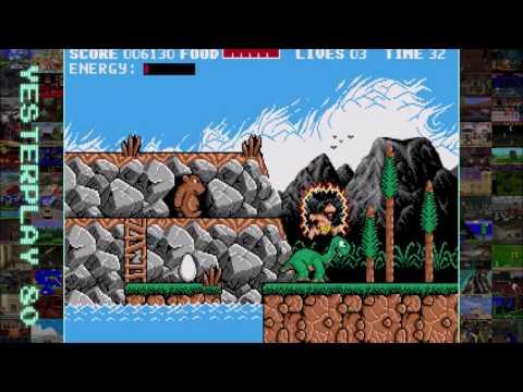 YesterPlay: Prehistorik (MS-DOS, Titus Interactive, 1991)