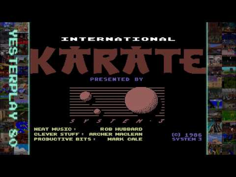 #YesterPlay: International Karate (C64, System 3, 1986)