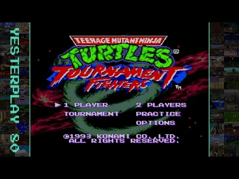 Teenage Mutant Ninja Turtles - Tournament Fighters (Mega Drive, Konami, 1993)