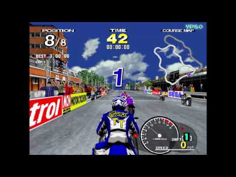 #YesterPlay: Manx TT Superbike (Arcade, Sega, 1995)