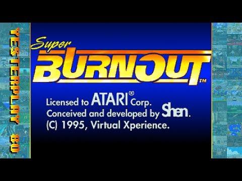 #YesterPlay: Super Burnout (Jaguar, Shen Technologies, 1995)