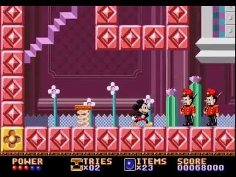 #YesterPlay: Castle Of Illusion Starring Mickey Mouse (Mega Drive, Sega, 1990)