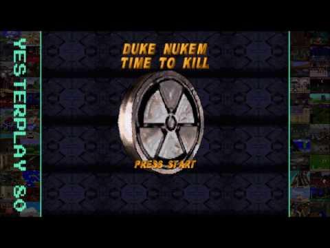 YesterPlay: Duke Nukem - Time To Kill (PS1, n-Space, 1998)