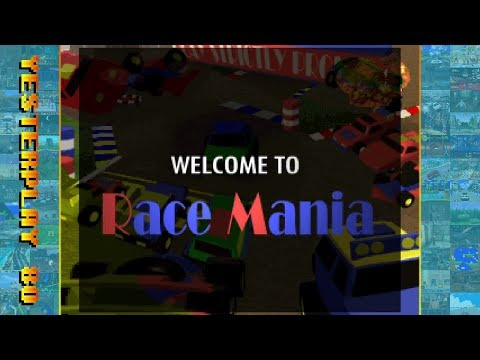 #YesterPlay: Race Mania (MS-DOS, Tangor, 1995)