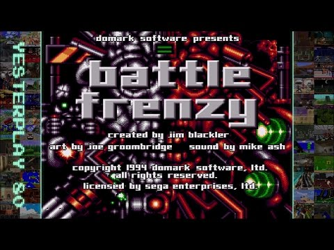 YesterPlay: Battle Frenzy (Mega Drive, Domark, 1994)