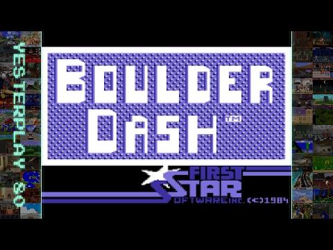 #YesterPlay: Boulder Dash (C64, First Star Software, 1984)