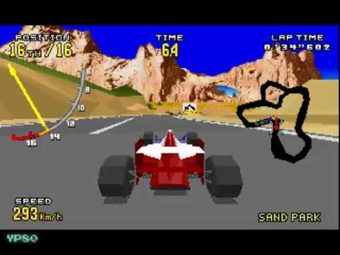 YesterPlay: Virtua Racing Deluxe (32X, Sega, 1994)