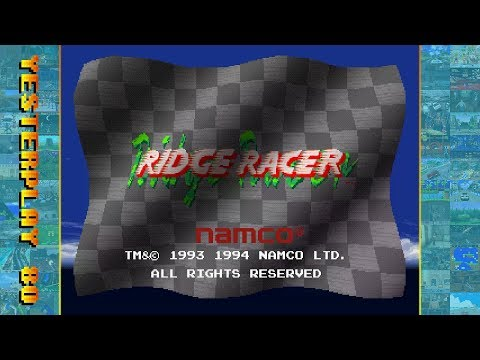 #YesterPlay: Ridge Racer (Playstation, Namco, 1994)