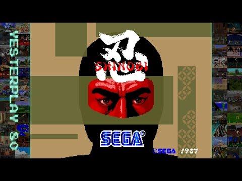 #YesterPlay: Shinobi (Arcade, Sega, 1987)