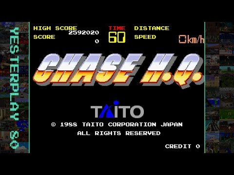 #YesterPlay: Chase H.Q. (Arcade, Taito, 1988)