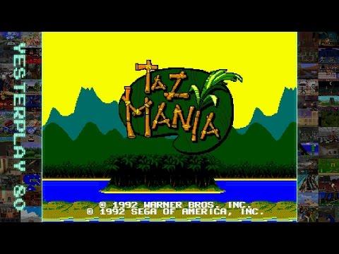 #YesterPlay: Taz Mania (Mega Drive, Recreational Brainware, 1992)