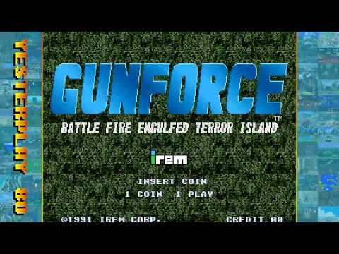 #YesterPlay: GunForce - Battle Fire Engulfed Terror Island (Arcade, Irem, 1991)